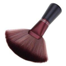 Pro Salon Cắt Tóc Cổ Duster Sạch Brushes Đen Rhinestone Xử Lý Cho Thợ Làm Tóc Thợ Làm Tóc Công Cụ Tạo Kiểu