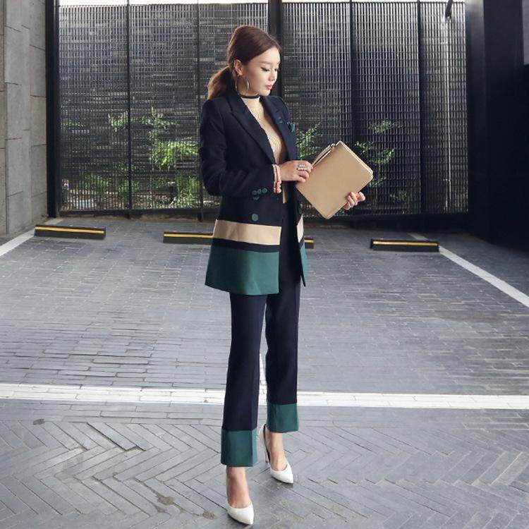 1b6952c643 New Formal women's business Clothes Skirt Suits Office Lady Jacket Sets for  Female Two Piece Coat