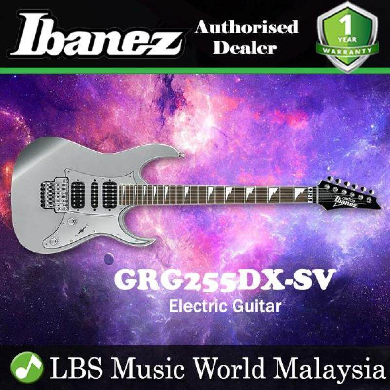Ibanez Gio GRG255DX-SV Silver Solid Body Electric Guitar (GRG255DX) Malaysia