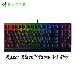 Razers Bàn Phím Cơ Chơi Game BlackWidow V3 Tenkeyless TKL-Xúc Giác & Nhấp Chuột-Đèn RGB Màu Sắc-Macro Có Thể Lập Trình thumbnail