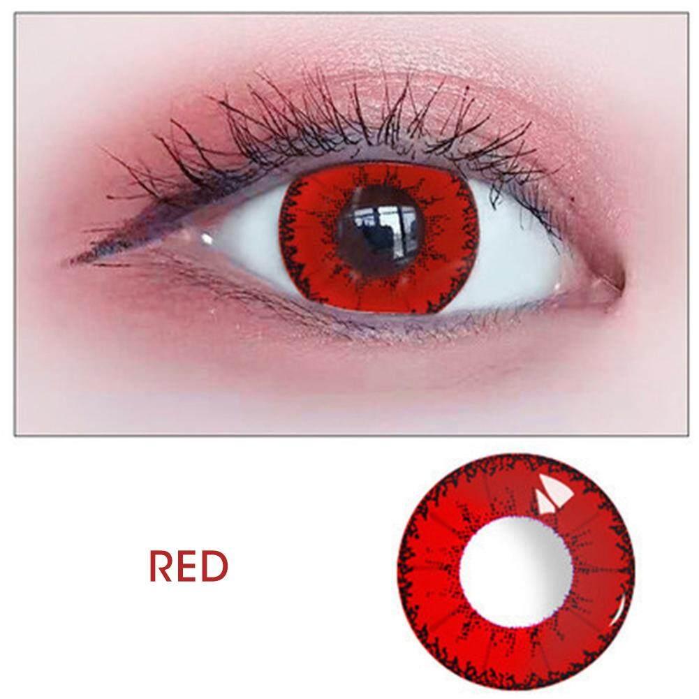 6 màu sắc 14.0mm Kính Quỷ Serie Mắt Phụ Kiện Màu Tròng Kính 0 Độ chính hãng