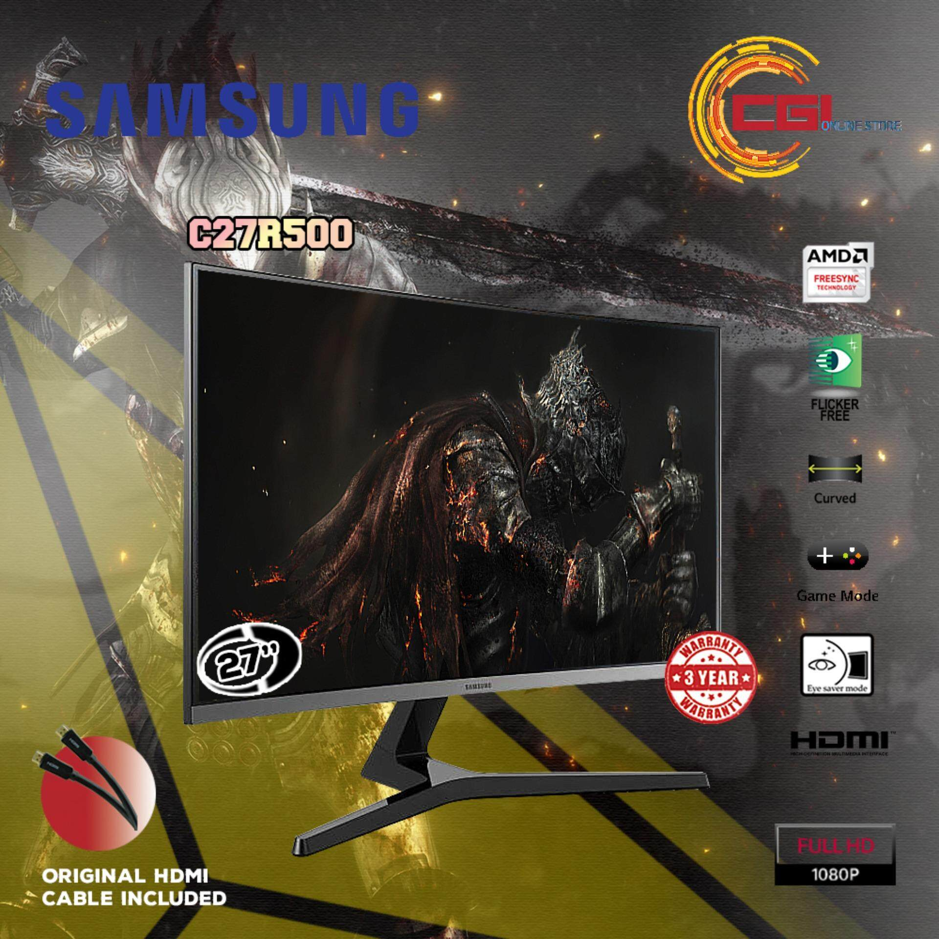 Samsung 27 LC27R500FHUXXM FHD Curved Gaming Monitor Malaysia