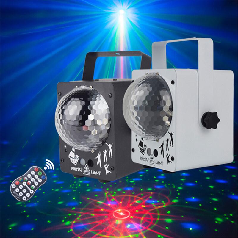 Bóng ma thuật nhảy disco pha lê LED RGB tvcc Với máy chiếu laser RG 60 mẫu Quán bar lễ hội tiệc DJ Đèn sân khấu giáng sinh Máy Chiếu Laser Vũ Trường hiệu ứng Đèn tiệc