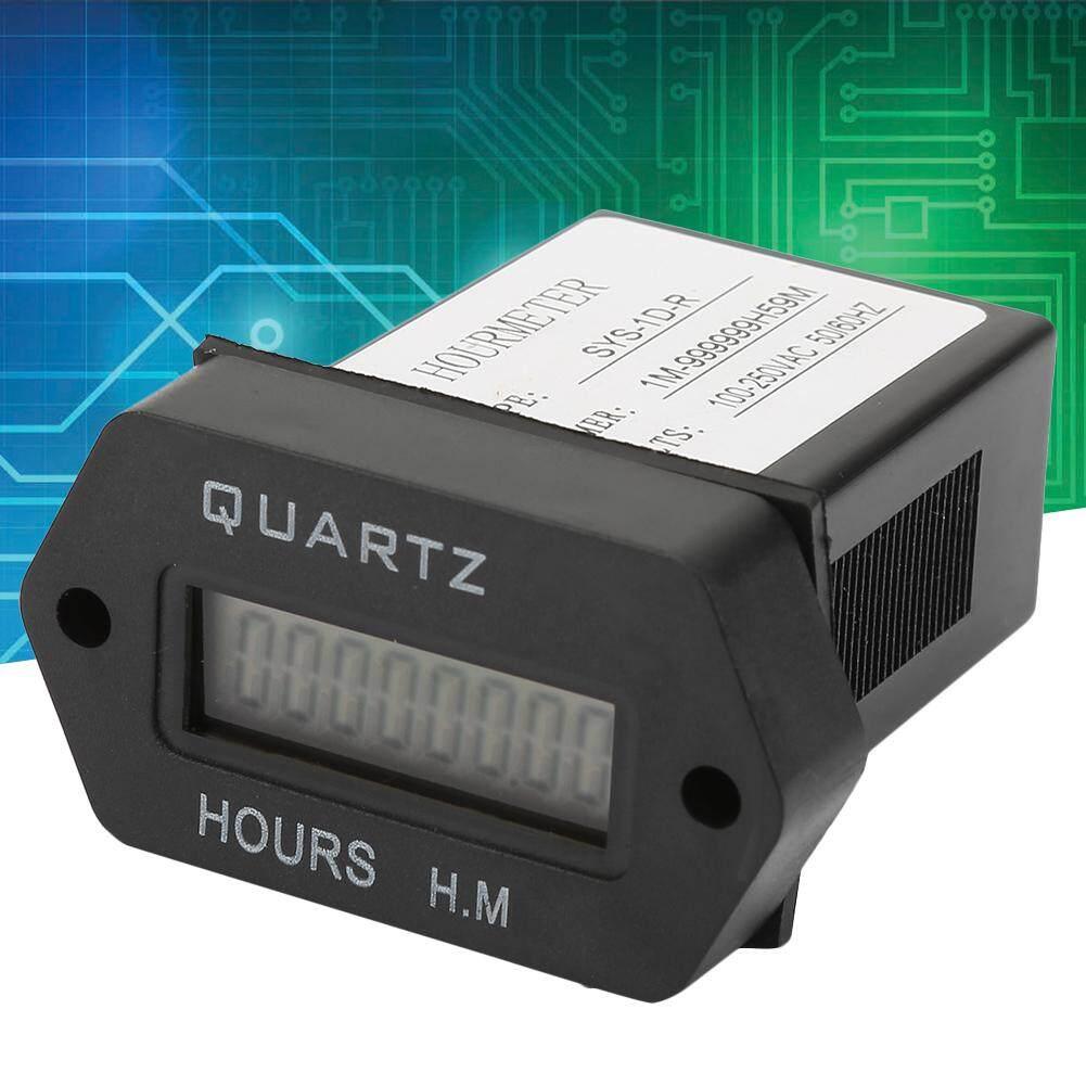 SYS-1D-R Công Nghiệp Kỹ Thuật Số Màn Hình Hiển Thị Điện Tử Hẹn Giờ Tích Lũy Thời Gian Phản 100V-250VAC