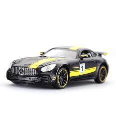 1:32 Đối Với Xe Mô Hình HợP Kim Mercedes-Benz AMG GT3 Âm Thanh Và Ánh Sáng Kéo Lại Xe Đồ Chơi