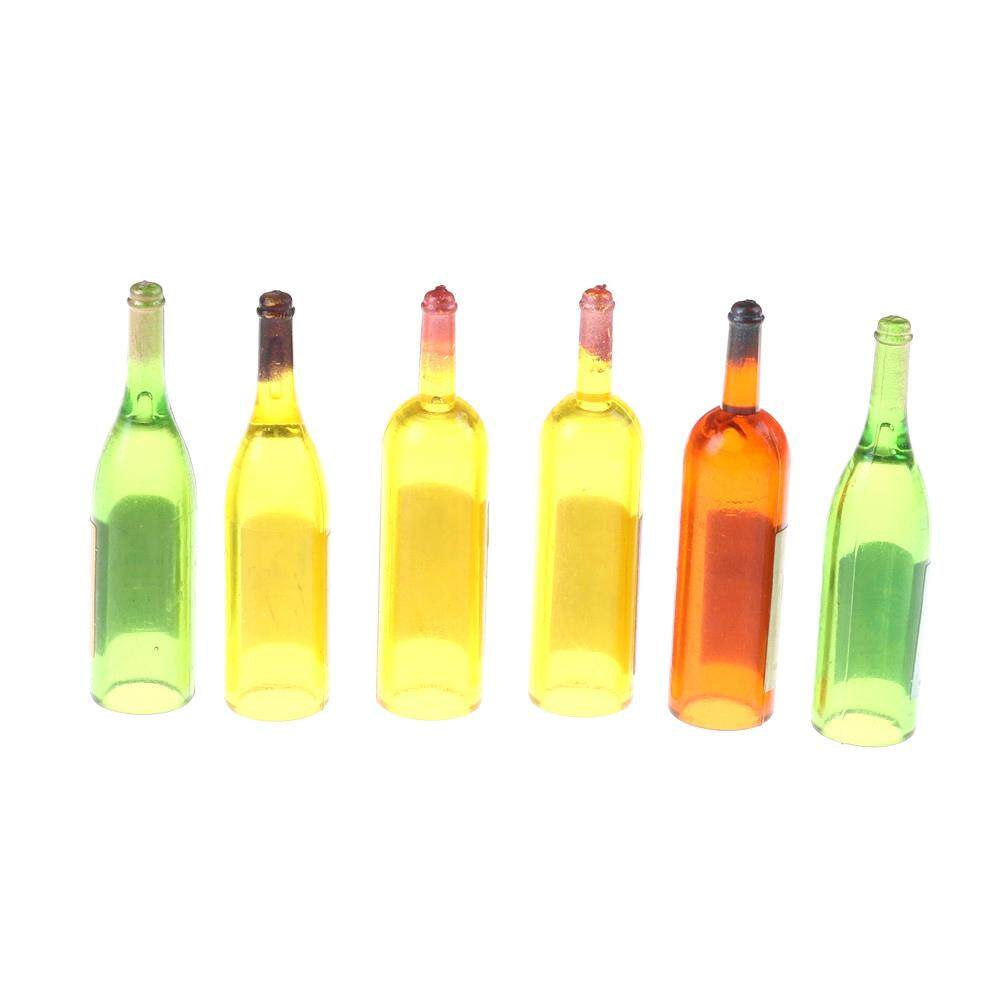 4pcs 1//12 dollhouse miniature clear wine drink cups toys kids doll accessory SP