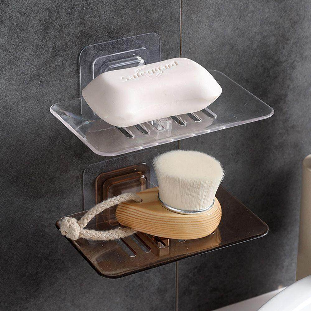 Saving Space For Bathroom Kitchen Soap Dish Soap Box Soap Rack Storage Rack