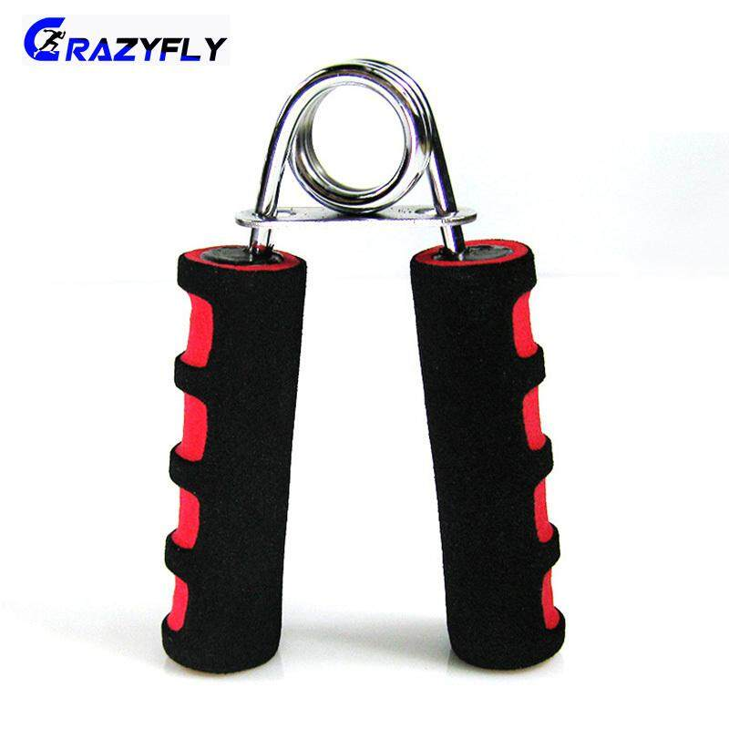 Crazyfly 2 ชิ้น/เซ็ตโฟมที่จับมือกล้ามเนื้อออกกำลังกาย Gripper Grip ข้อมือหลังแขนฟื้นฟูผู้พัฒนาที่จับขนาดใหญ่ Strengthener By Crazyfly.