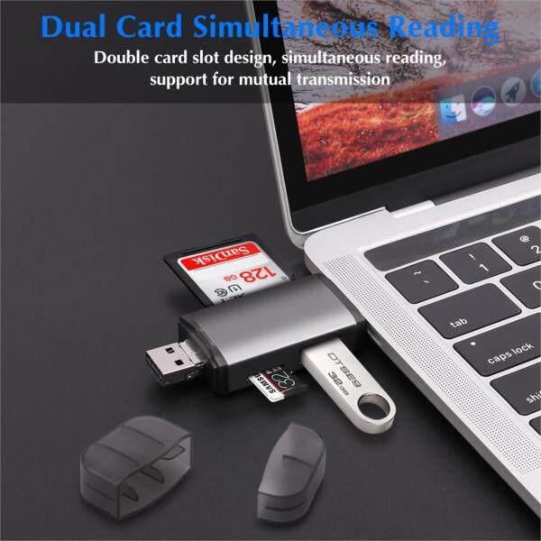 Bảng giá Đầu Đọc Thẻ, Phụ Kiện Bộ Chuyển Đổi Micro USB 2.0 Loại C Sang SD Micro SD TF Đầu Đọc Thẻ Nhớ SD Thông Minh OTG Phong Vũ