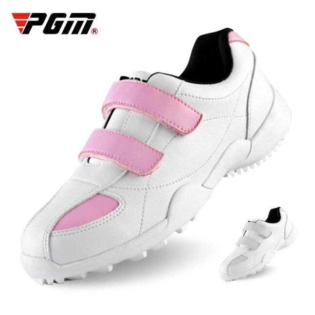 PGM Giày Thể Thao Ren Velcro Bằng Da Sợi Nhỏ Cho Nữ, Giày Thể Thao Nữ Chống Nước Siêu Trượt Thoáng Khí giá rẻ
