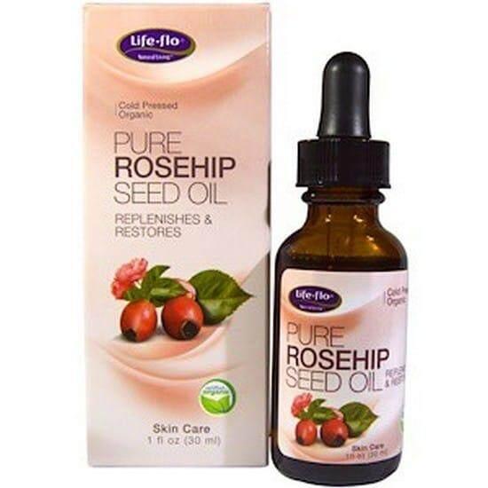 Life Flo Health Pure Rosehip Seed Oil Skin Care 30ml