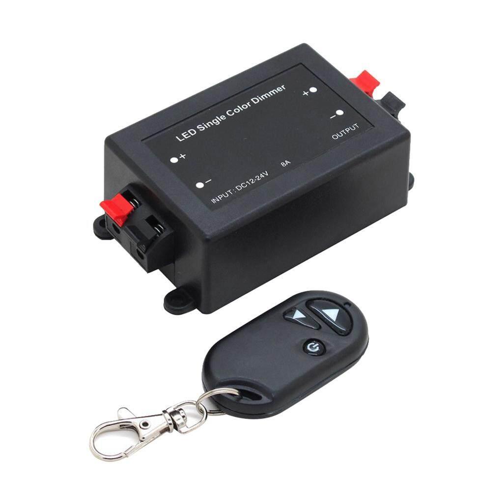 Blesiya 3 Chìa Khóa Điều Khiển Từ Xa RF Không Dây LED Đơn Sắc Công Tắc Đèn Mờ Bộ Điều Khiển