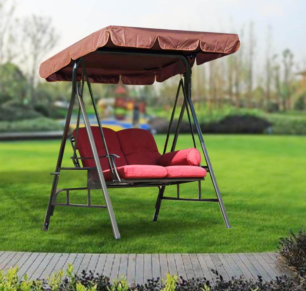 Swing Cover Waterproof Garden Yard Swing Seat Top Cover Outdoor Rainproof Dustproof Anti UV Protector