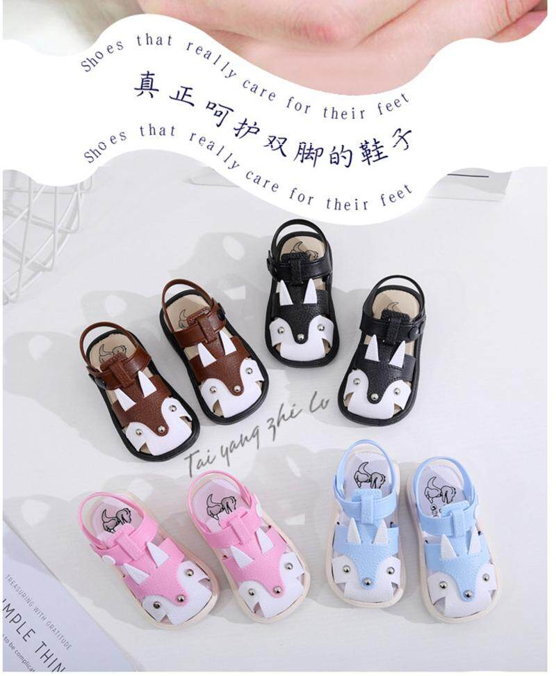 New~kids Boys Girls Cartoon Beach Shoes Sandals Walk Shoes Non Slip Sneakers Baby Flats By Friends369.