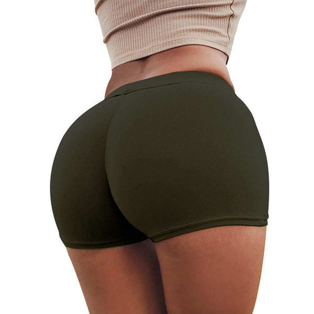 Women Sport Shorts Skintight Sexy Running Gym Work Anti-Emptied Pants By Union Mall.
