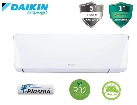 Daikin 2.5HP Premium Non Inverter Air Conditioner R32 A Series FTV60A & RV60A (F.O.C. Rocky West America Backpack)