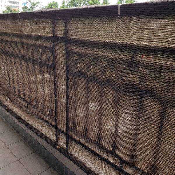 Fence Sun Shade Mesh Balcony Shade Net Privacy Screen for Balcony Backyard Deck Patio Fence