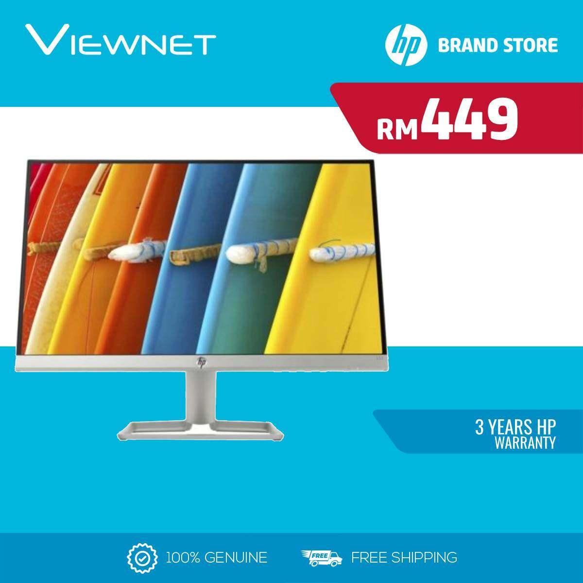 HP Led Flat 21.5  22F 3AJ92AA Monitor (IPS-FHD-5MS-VGA-HDMI) Malaysia