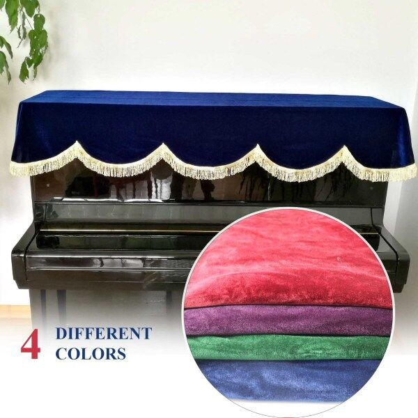 (Ready Stock) Amazthing 76/88 Keys Piano Half Cover/Dust Guard Cover Penutup Piano 4 colors 钢琴罩 Malaysia