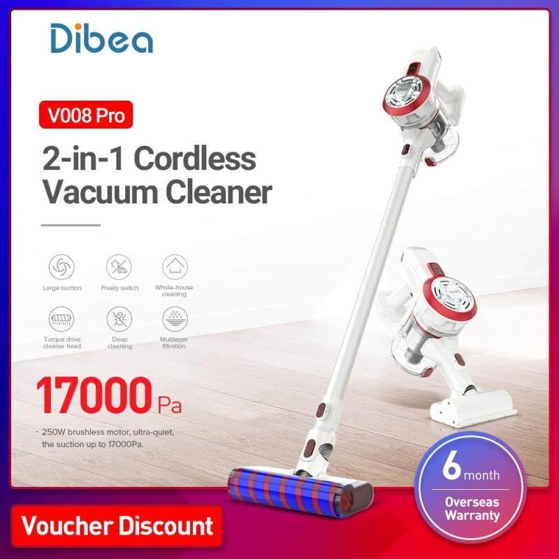 Dibea V008 Pro 2-in-1 Cordless Lightweight Vacuum Cleaner Singapore