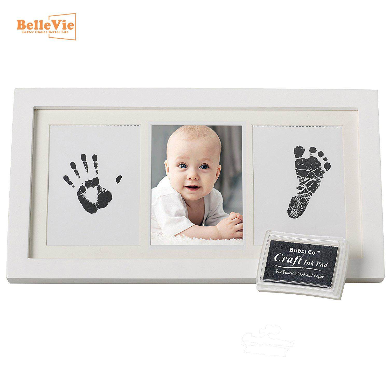 """Extra Large Baby Safe /""""Clean Inkless Touch/"""" Footprint and Handprint Ink Pad  FO"""