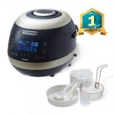 Khind Rice Cooker Mc50d (5.0l) 20 Multi Cooking Functions By Sjk Electrical.