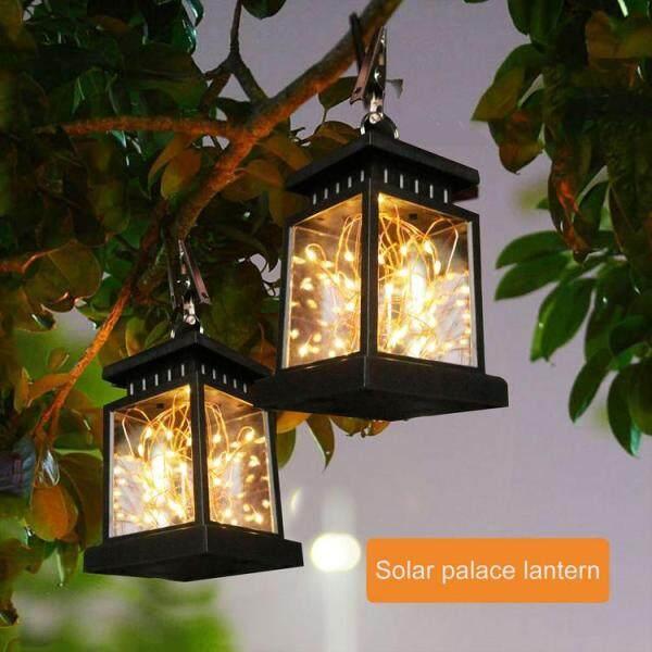 1 Chiếc Đèn Lồng Năng Lượng Mặt Trời Cổ Điển Đèn Ngủ Chống Nước Năng Lượng Mặt Trời Ngoài Trời Đèn Trang Trí Đèn Treo Sân Vườn Đèn Cảnh Quan Trang Trí Sân Vườn