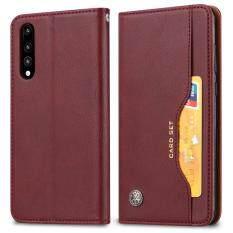 Dành cho Samsung Galaxy Samsung Galaxy A50 SM-A505F Da PU Ví Lật Ốp Lưng Bảo Vệ 6.4 Inch