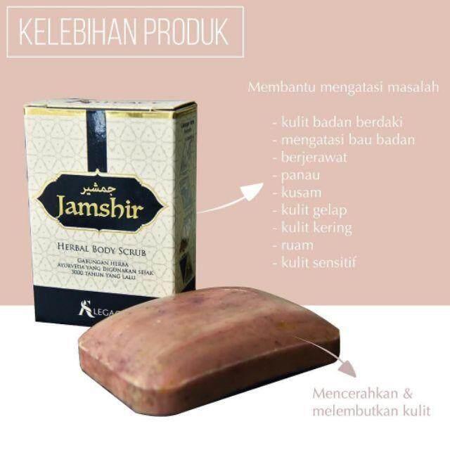Jamshir Herbal Body Scrub As Legacy By Kekal Cantik Enterprise.