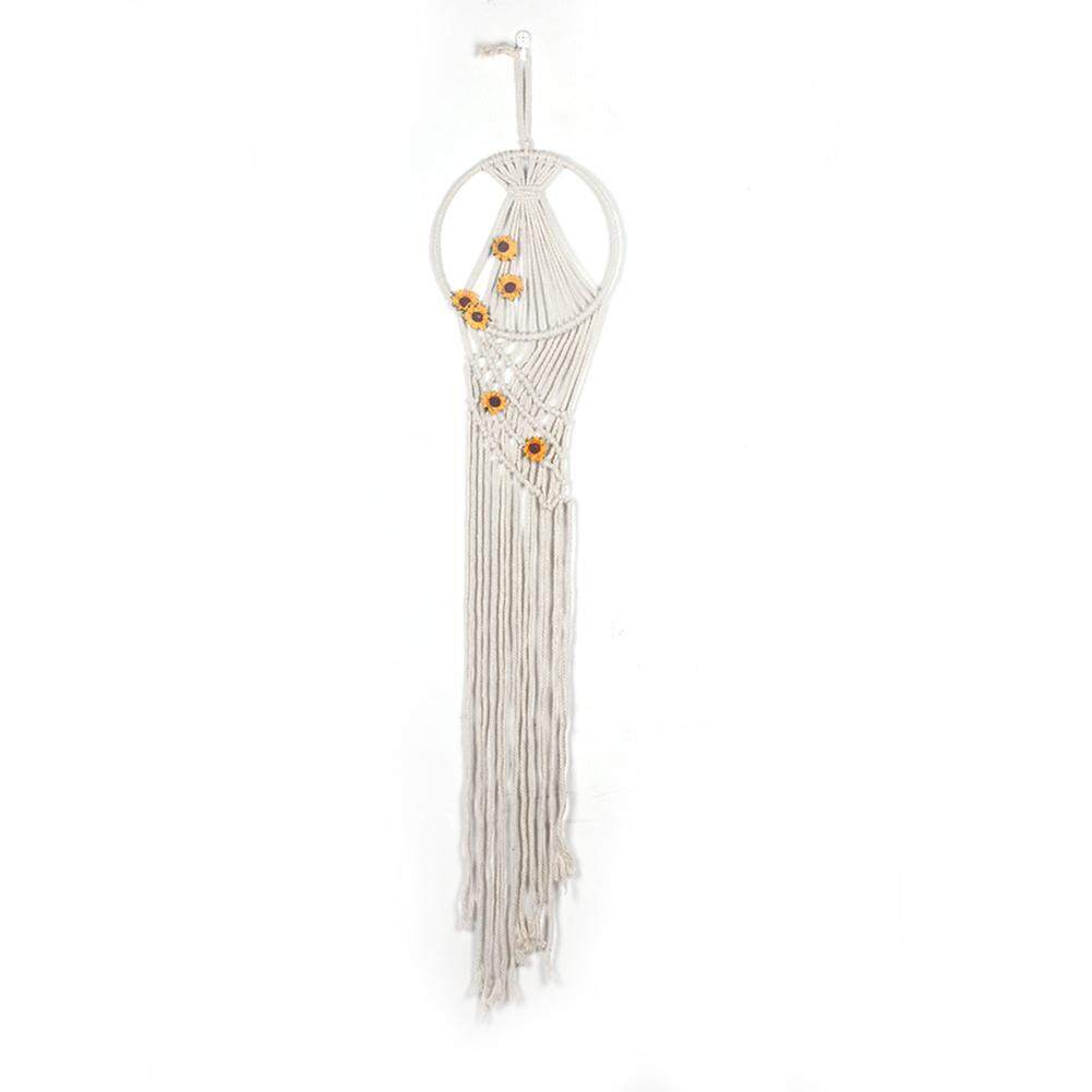 Simple Bohemia Hand Knitting Hanging Tapestry for Wedding Party Decoration Specification:MS7368