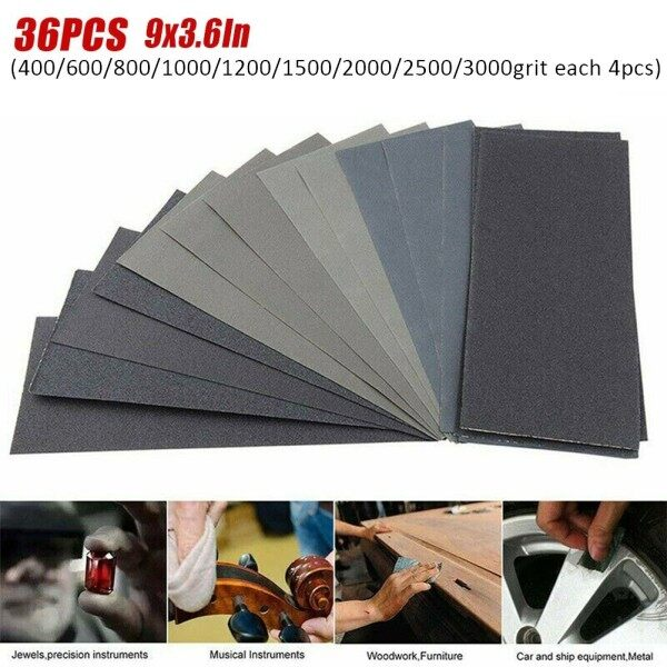 2021 New 400 To 3000 Grit Sandpaper Best Cheap High Quality Top-quality