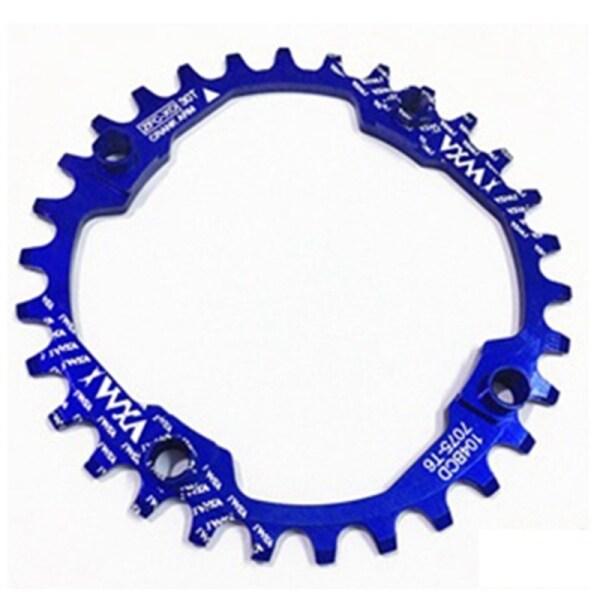 Phân phối VXM Bicycle Chainwheel Crank 30T 104BCD Cycling Round MTB Bike Chainring Circle Crankset Plate Sprocket