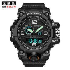 SANDA Watch Male Student's Waterproof Sports Electronic Watch Teenager Run ayumi inflooring Men's Watch Outdoor the special arms Army Style Watch Male