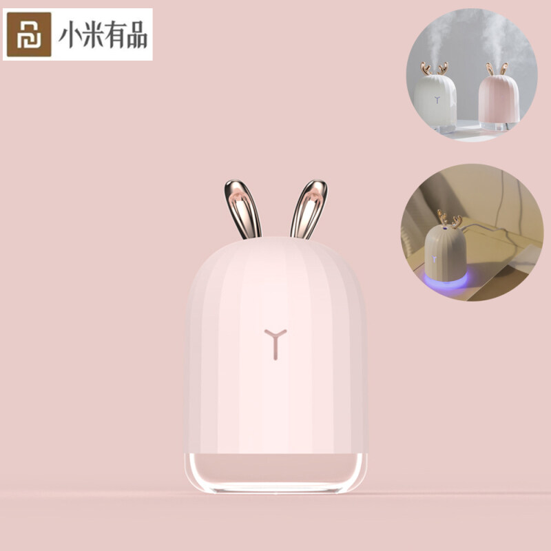 Xiaomi Ecological Chain Urallife 220ML Air Humidifier Aroma Essential Diffuser for Home Car USB Fogger Mist Maker LED Light