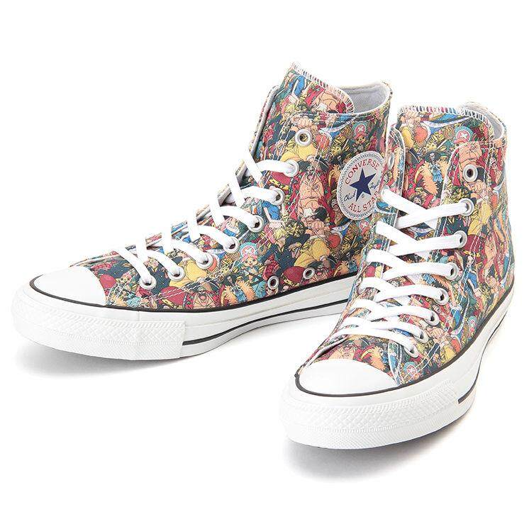 b3d044d3c371 Converse All Star 100 ONE PIECE PT HI CHUCK TAYLOR Sneakers Japan Limited  Multi