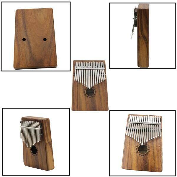 IRIN 17 Keys Wooden Kalimba Solid Thumb Piano Finger Percussion Music Gifts - Malaysia