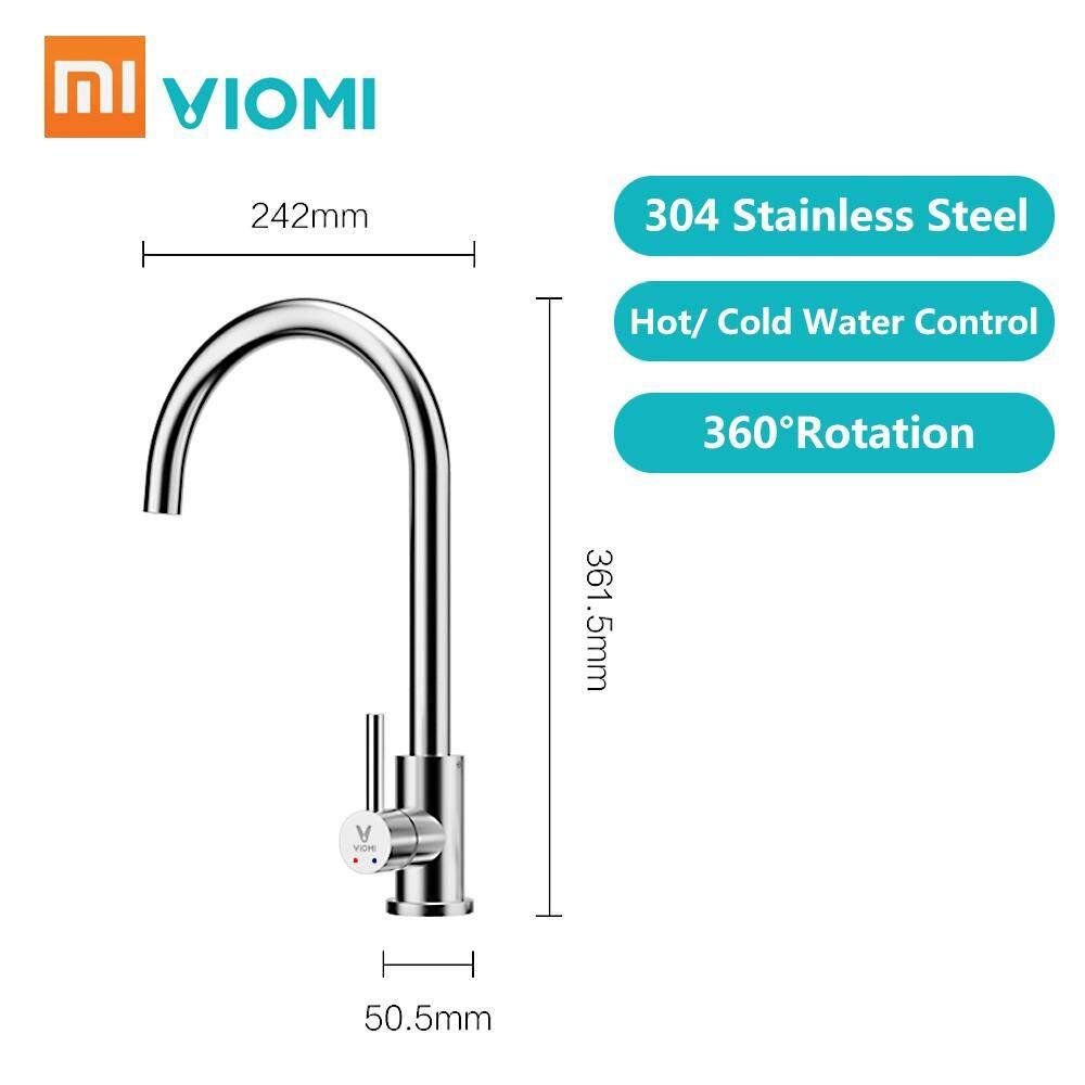 תוצאת תמונה עבור Viomi Stainless Steel Kitchen Basin Sink Faucet Tap