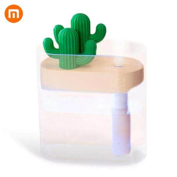 Xiaomi Sothing 319 Clear Cactus Ultrasonic Air Humidifier 160ML Color Light USB Air Purifier  For Daily Use Singapore