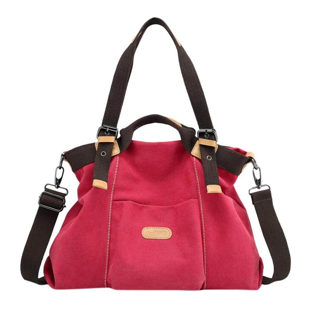 Tailored Canvas Handbag Casual Purse Tote Bag Top Handle Handbags Crossbody Bags Women