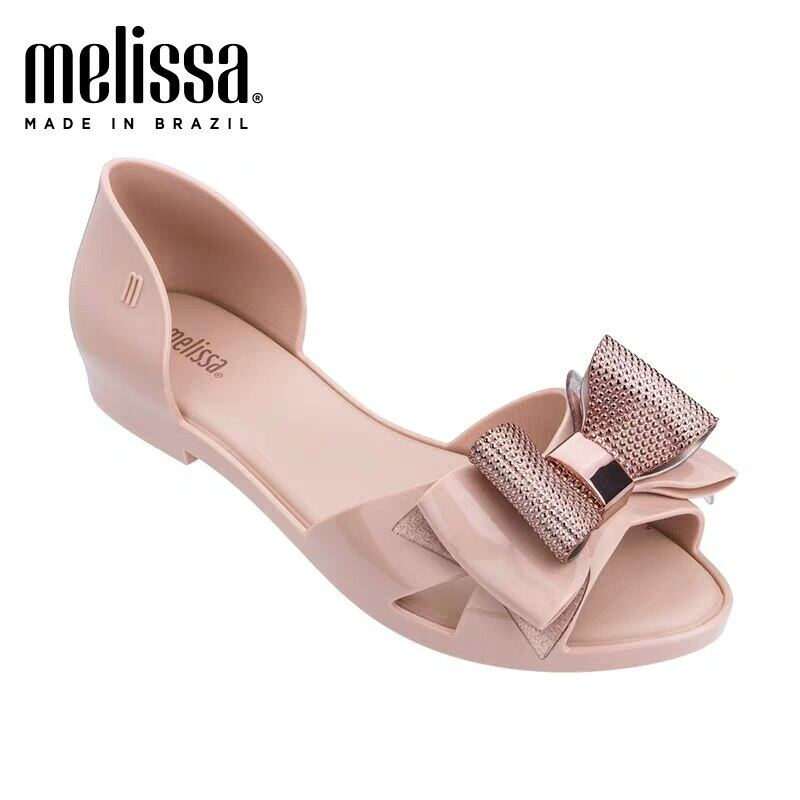 2020 New Melissa Women Jelly Shoes Bow