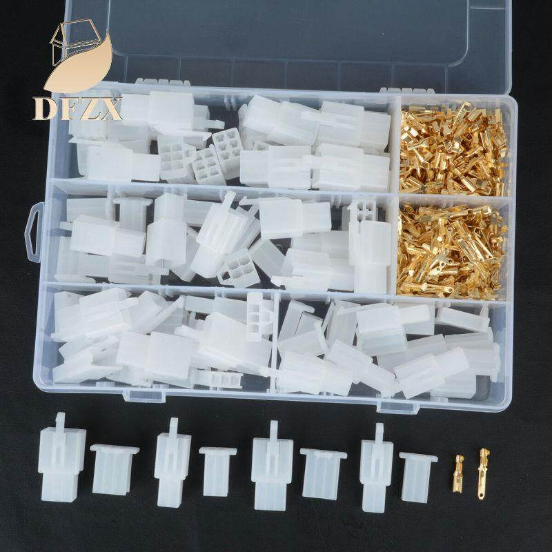 DFZX Trade 380pcs/set Auto Car Motorcycle 2.8mm 2 3 4 6 pin Electrical Wire Connector Terminal