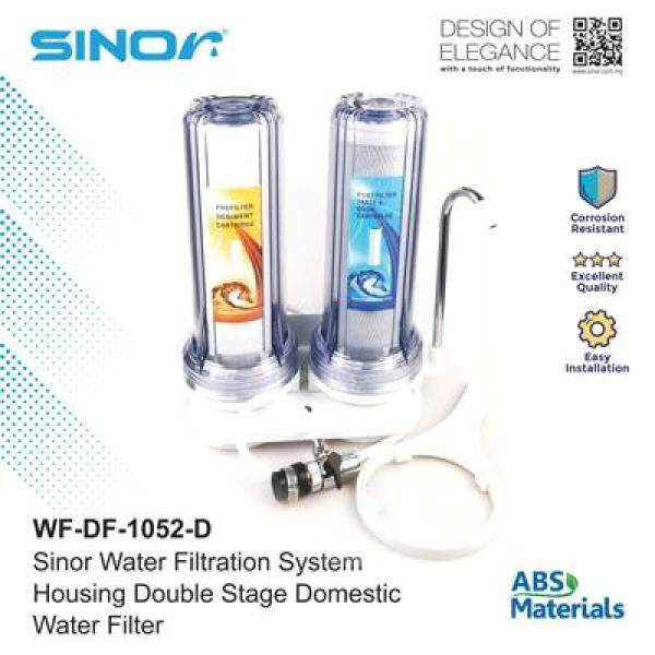 Sinor WF-DF-1052-D Housing Double Stage Domestic Water Filter