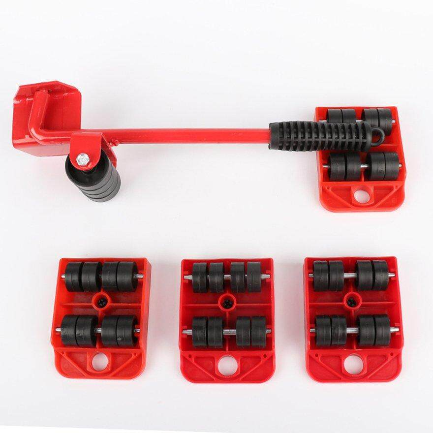 ANEXT Furniture Lifter Easy Moving Sliders 5Pcs Mover Tool Set Moving Lifting Tool