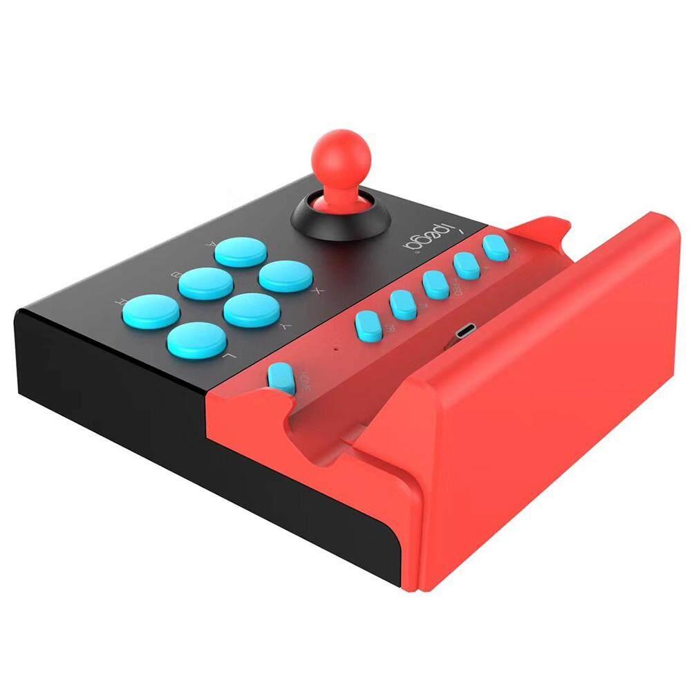 Giá Video Điều Khiển Arcade Chiến Đấu Sử Dụng Joystick Phụ Kiện Đơn Đính Đá Cho N Công Tắc