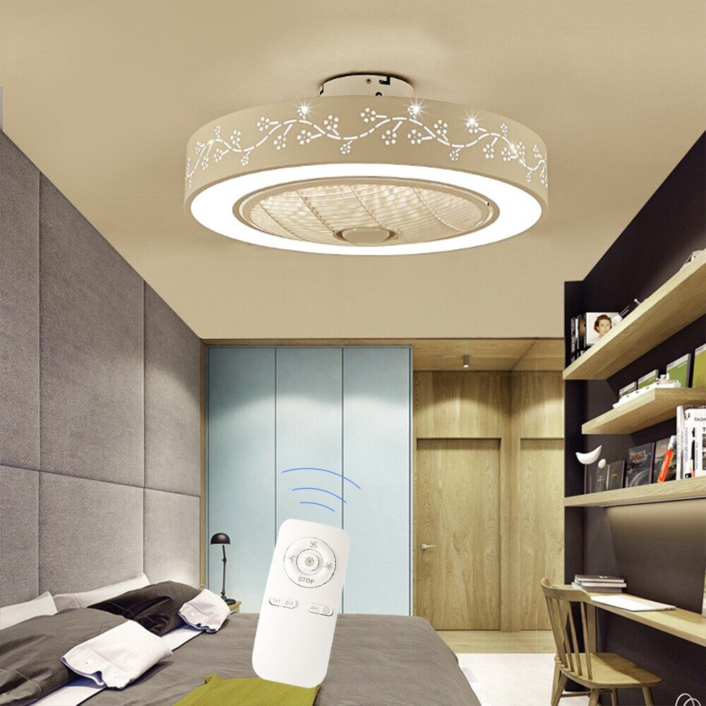 55cm Led Ceiling Fan With Light