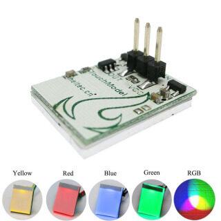 KUILAOZ Bảng Mạch Điện Tử RGB Chống Nhiễu, Mô-đun Nút Cảm Biến Nhiều Màu LED Cảm Ứng Chuyển Đổi thumbnail