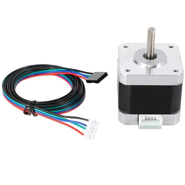 Bảng giá Nema 17 Stepper Motor Bipolar 4 Leads 34Mm 12V 1.5 A 26Ncm(36.8Oz.In) 3D Printer Motor 42Shd0001 Phong Vũ