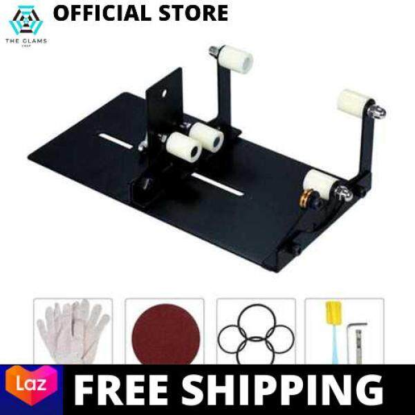 [LAZCHOICE] Glass Bottle Cutter, Bottle Cutting Tool Kit, DIY Machine for Cutting Wine Bottle for Round, Square Bottle (Standard)