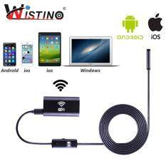 Wistino HD 720 P Mini Wifi Camera Nội Soi Cho Điện Thoại Thông Minh iPhone Android PC 1 M Chiều Dài 8mm Len Ip67 chống thấm nước Kiểm Tra Giám Sát Ống Camera Ống Camera
