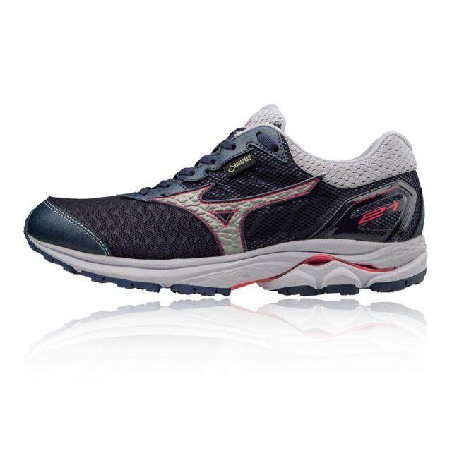 307d0a20d Philippines. Mizuno Women s Running Shoe Neutral Wave Rider 21 G-tx Blue -  J1gd187403 US4.